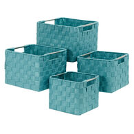 Home Expressions 4-Piece Woven Storage Basket Set