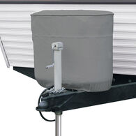 RV Tank Cover - Gray, Fits Double 20 / 5 gallon