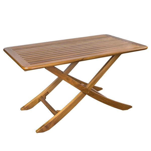 Whitecap Large Adjustable Slat Top Table