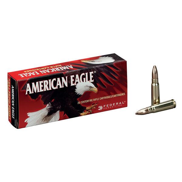 American Eagle Rifle Ammunition, 7.62x39mm, 124-gr., FMJ, 20Rds