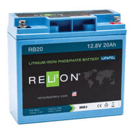 RELiON 12V 20Ah Lithium Battery