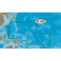 C-MAP MAX-N+ PC-Y203, Carolinas, Kiribati, Marshall, And Marinas