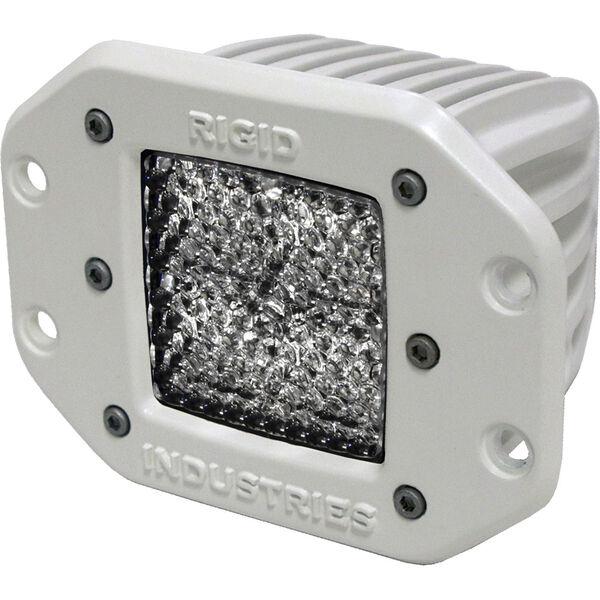 Rigid Industries M-Series Dually Flush-Mount LED Diffused Light, Each
