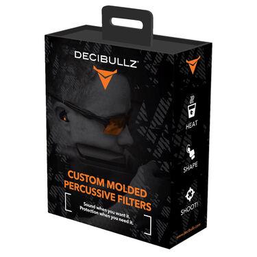 Decibullz Custom Molded Percussive Shooting Filters