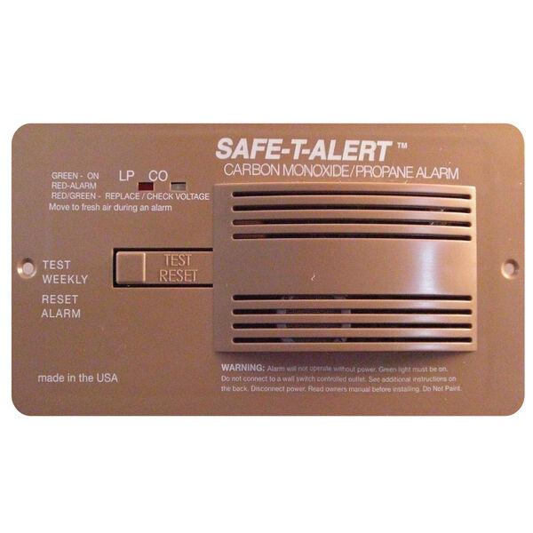 Safe T Alert 70 Series Pro Dual CO/Propane Alarm, Brown