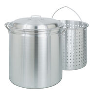 Bayou Classic® 42-qt Aluminum Stockpot with Lid and Basket