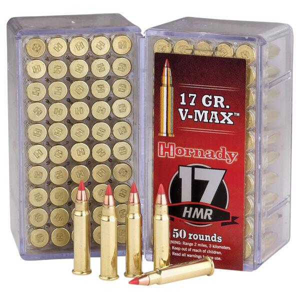 Hornady 17 Varmint Express Rimfire Ammunition, .17 HMR, 17-gr., V-Max