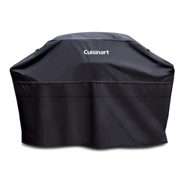 "Cuisinart Heavy Duty Barbecue Grill Cover, 60"", Black"