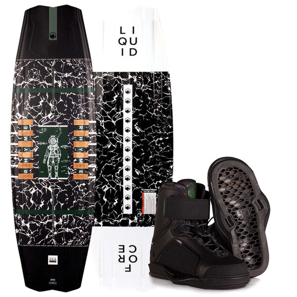 Liquid Force Rhythm Wakeboard with Pulse 4D Bindings