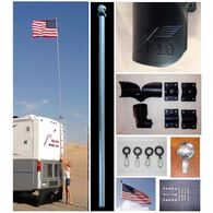 22 Ft. Fiberglass FlagPole Buddy Kit