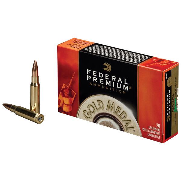 Federal Premium Gold Medal Ammo, .30-06 Spring, 168-gr., SMK-BTHP