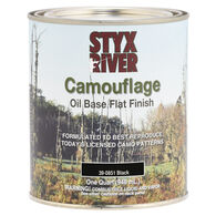 Styx River Camouflage Paint, Quart