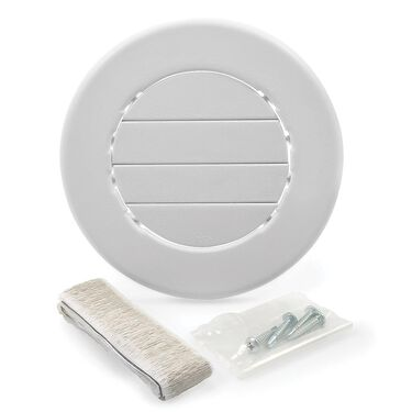 Camco Air Conditioning Open/Close Ceiling Vent, White