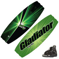 Gladiator Matrix Wakeboard With Clutch Bindings
