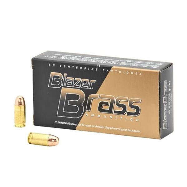 Federal CCI .45 ACP Blazer Brass Box