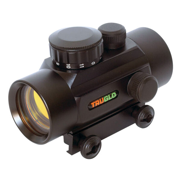 TruGlo Traditional 1x30 Red-Dot Sight, 5 MOA, Black, model TG8030P