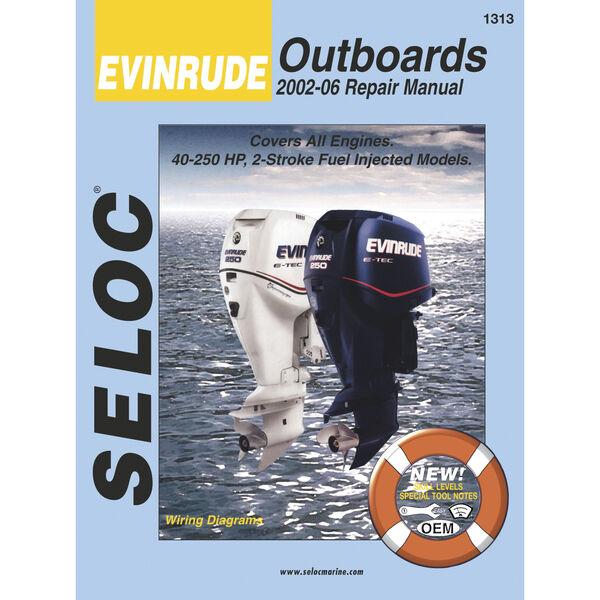 Seloc Marine Outboard Repair Manual for Evinrude '02 - '14