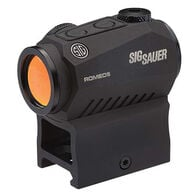 SIG Sauer 1x20 ROMEO5 Red Dot Sight, 2-MOA Red Dot Reticle