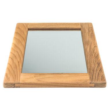 Whitecap Teak Teak Rectangular Mirror Frame