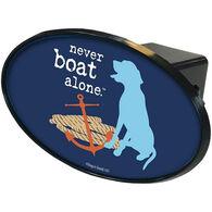 Trik Topz Never Boat Alone Hitch Cover