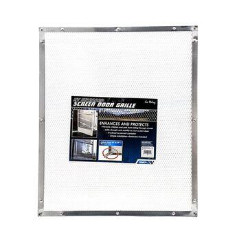 Screen Door Standard Grille, Aluminum