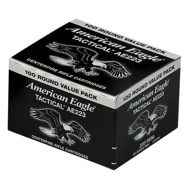 American Eagle .223 Rem Ammunition, 100-rounds