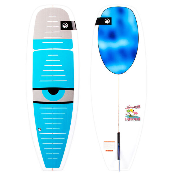 Liquid Force Spoon Bill 5-4 size 5'4""