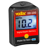 Vexilar DD-100 FL Digital Depth Indicator With Battery Gauge