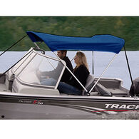 """Shademate Bimini Top Polyester Fabric Only, 2-Bow 5'6""""L x 42""""H, 47""""-53""""W"""