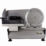 "CHARD Heavy-Duty 8.6"" Stainless Steel Electric Slicer"