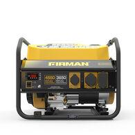 FIRMAN 4550/3650 Watt Recoil Start Gas Portable Generator