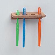 """Whitecap Teak Toothbrush Holder, 5-3/4""""L x 1-7/8""""D"""