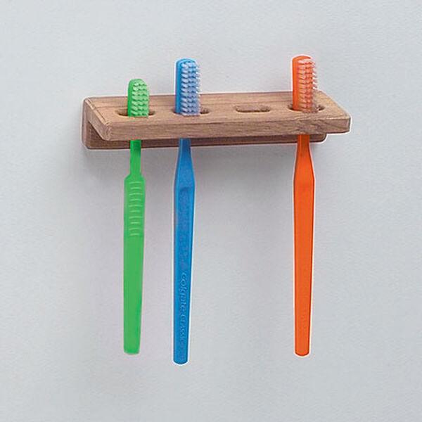 """Whitecap Teak Teak Toothbrush Holder, 5-3/4""""L x 1-7/8""""D"""
