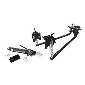 """Weight Distributing Hitch Kit w/ Distribution Hitch, Sway Control, 2-5/16"""" Hitch Ball - 800 lbs Tongue Weight"""