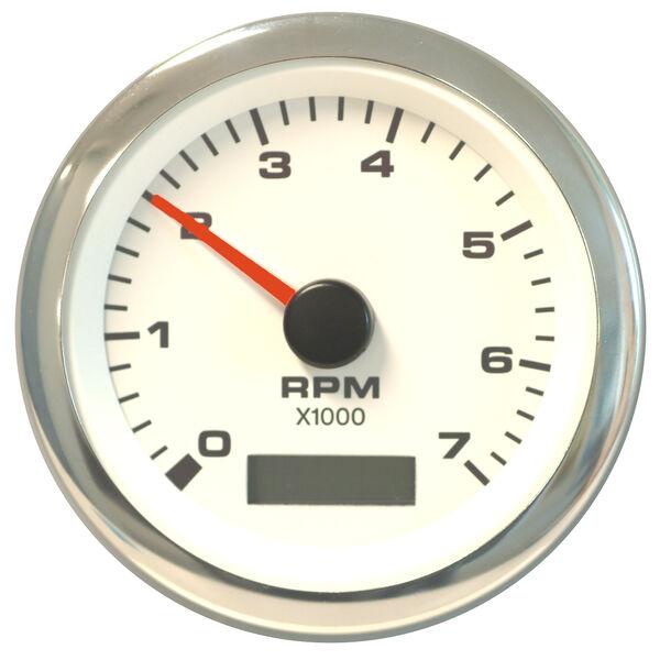 "Sierra White Premier Pro 3"" Tachometer/Hourmeter"