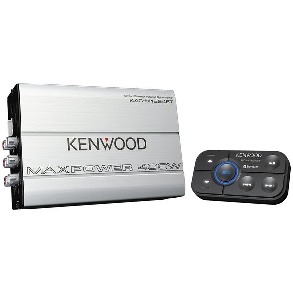 Kenwood KAC-1824BT 4-Channel Power Amplifier With Bluetooth