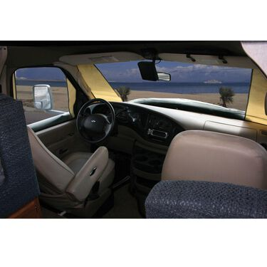 Ford 1992-1995 - Deluxe Class C Windshield Cover - Without Mirror Cut-Outs