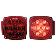 Optronics Red LED Combination Tail Light Kit, Stud Mounts, 11-14 LED