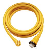50 Amp Locking Powercord Plus RV Cordset – 50'