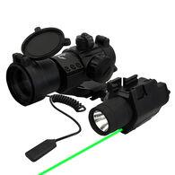 Triton Tactical LED Flashlight & Green Laser