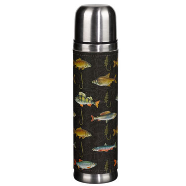 Wild & Wolf Hook, Line, & Sinker Insulated Flask