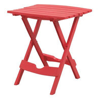 Quik-Fold Side Table, Cherry Red