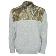 Realtree Men's Impact Quarter-Zip Fleece Pullover