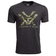 Vortex Men's Camo Logo Short Sleeve T-Shirt