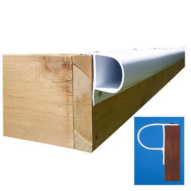 """Dock Edge Premium PVC """"P"""" Profile, 32'"""