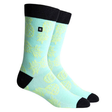 Richer Poorer Men's Luau Sock, California Collection