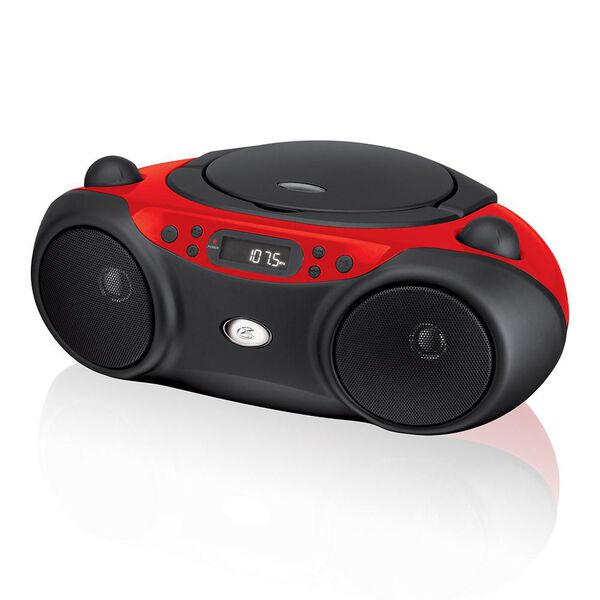Portable CD Boombox with AM/FM Radio