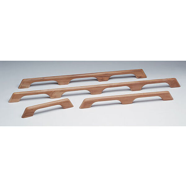 "Whitecap Teak Teak Three-Loop Handrail, 33""L x 2-3/8""H x 1""D"