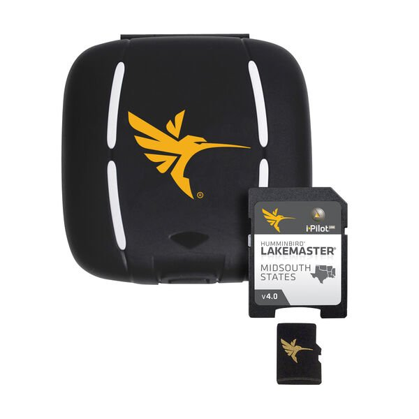 Humminbird LakeMaster Mid-South States Micro Map Card With SD Adapter