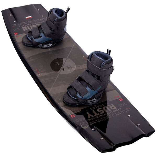 Hyperlite Rusty Pro Wakeboard With Formula Bindings